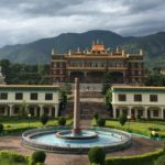 The Temple of Dzongsar Institute, India