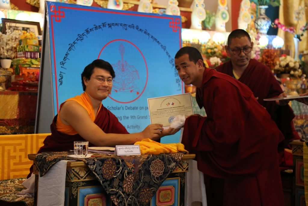 The completion of The 9th Grand Rigter Spring Dharma